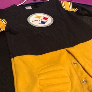 Steelers 18 months padded knee one piece EUC
